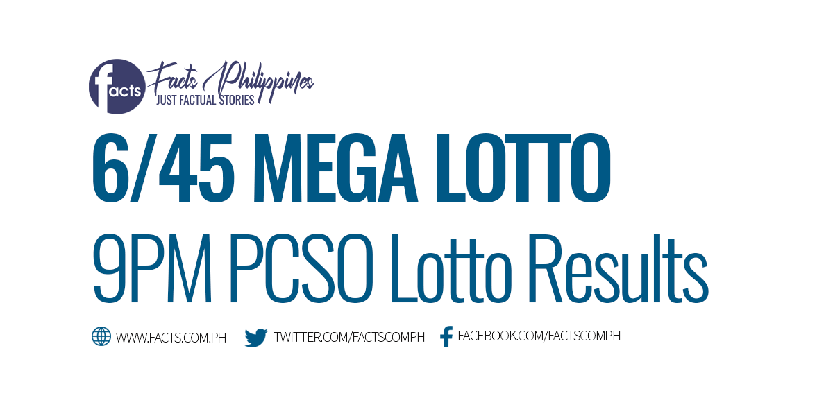 645 Lotto Result Today PCSO