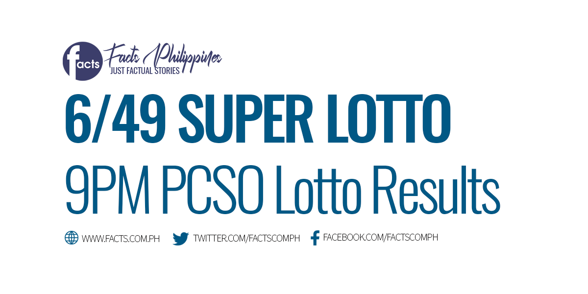 649 Lotto Result Today PCSO